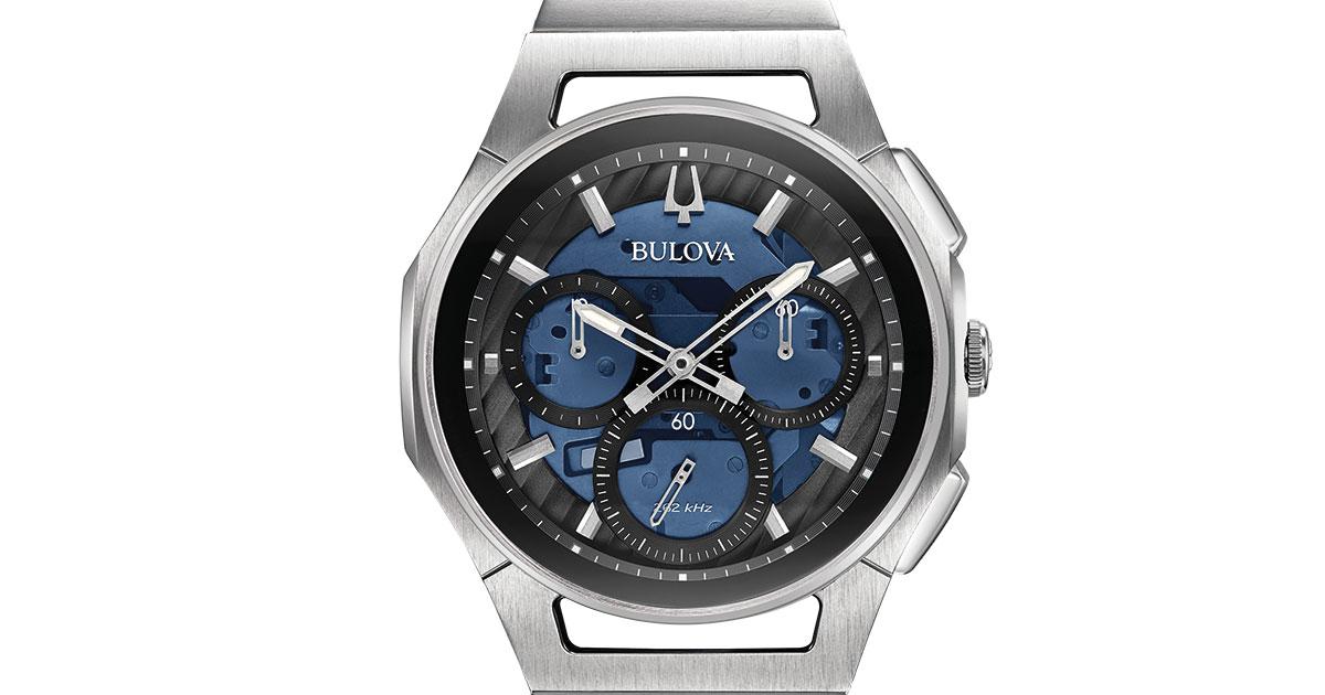 """Die Bulova Curv schaffte es unter die Top 3 in der Kategorie """"Watch Design""""."""