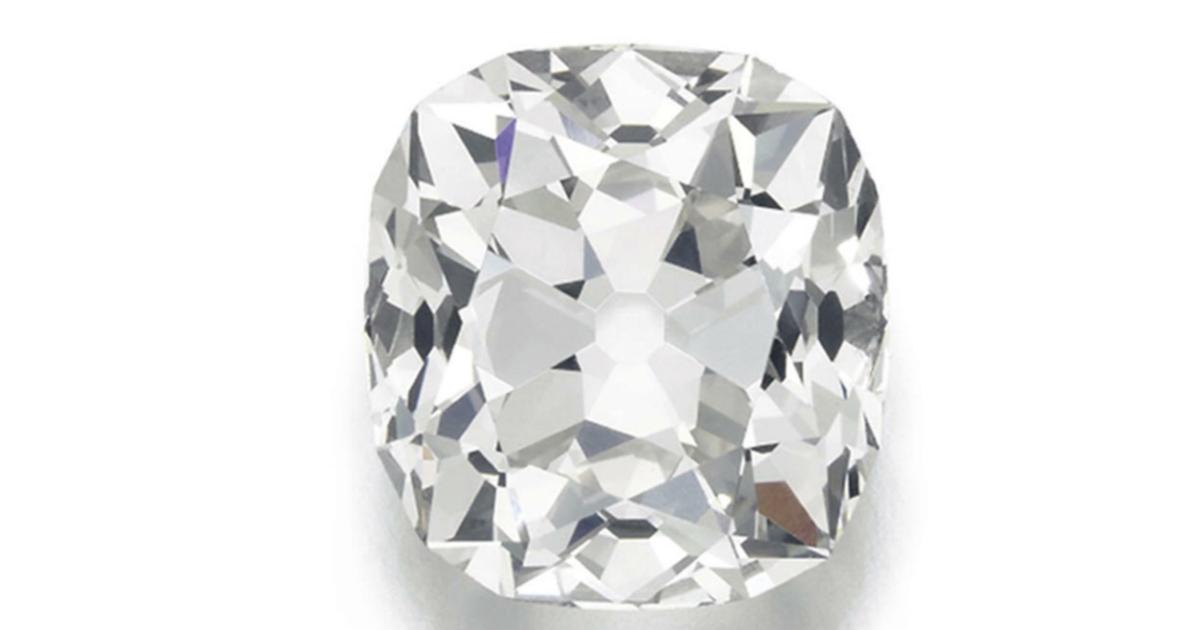Ein vermeintlicher Glasstein war in Wirklichkeit ein wertvoller Diamant.
