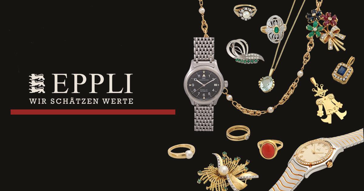 Eppli versteigert jeden ersten Samstag im Monat Vintage-Stücke für Juweliere.