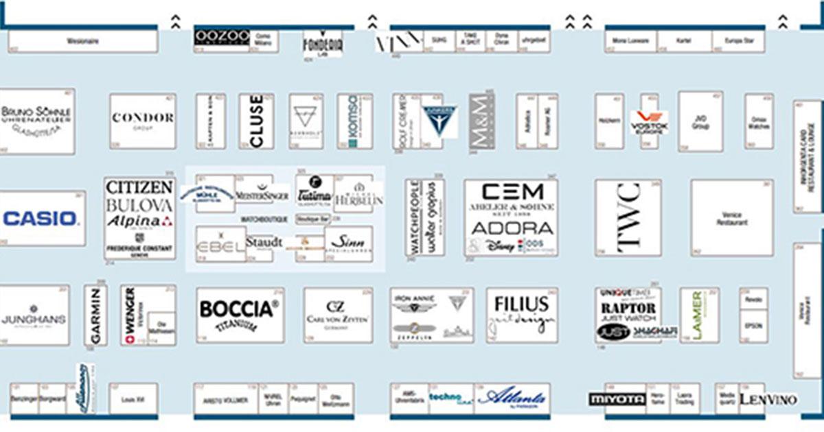 Reinzoomen, orientiern, planen, mit dem interaktiven Hallenplan der Inhorgenta.