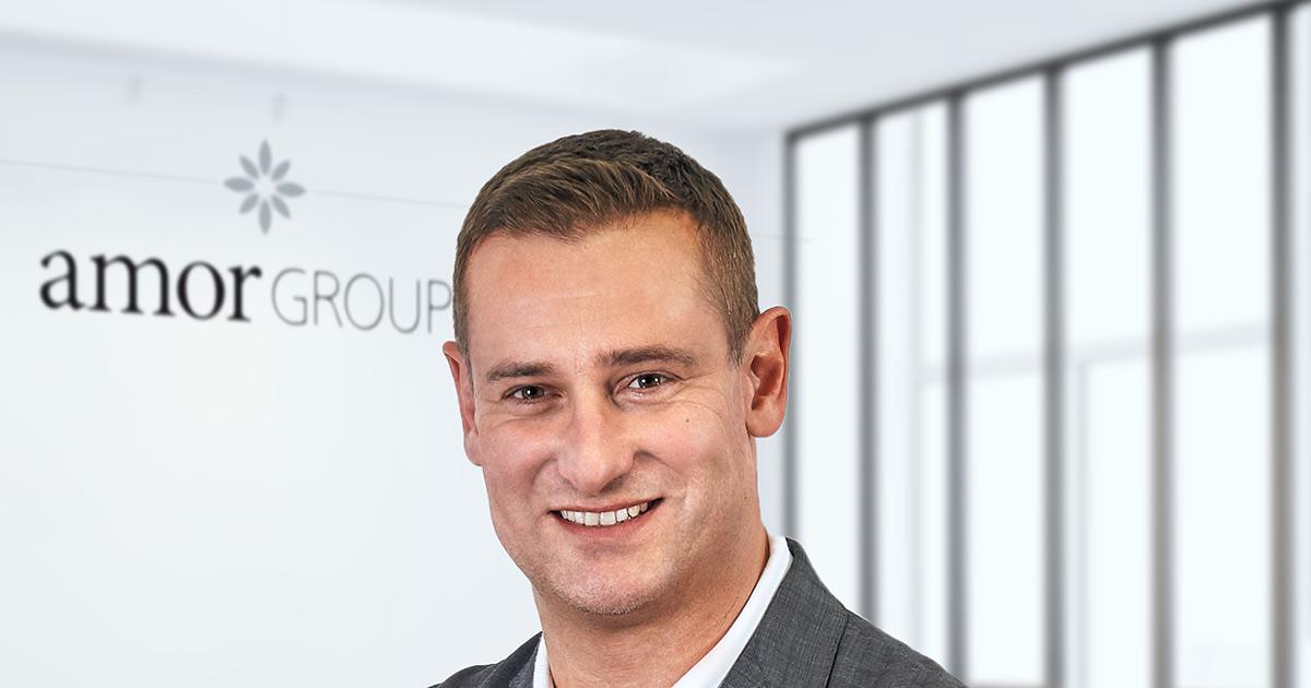 Steht für Expansive Effizienz: Hans Schmitt, CEO Amor Group.