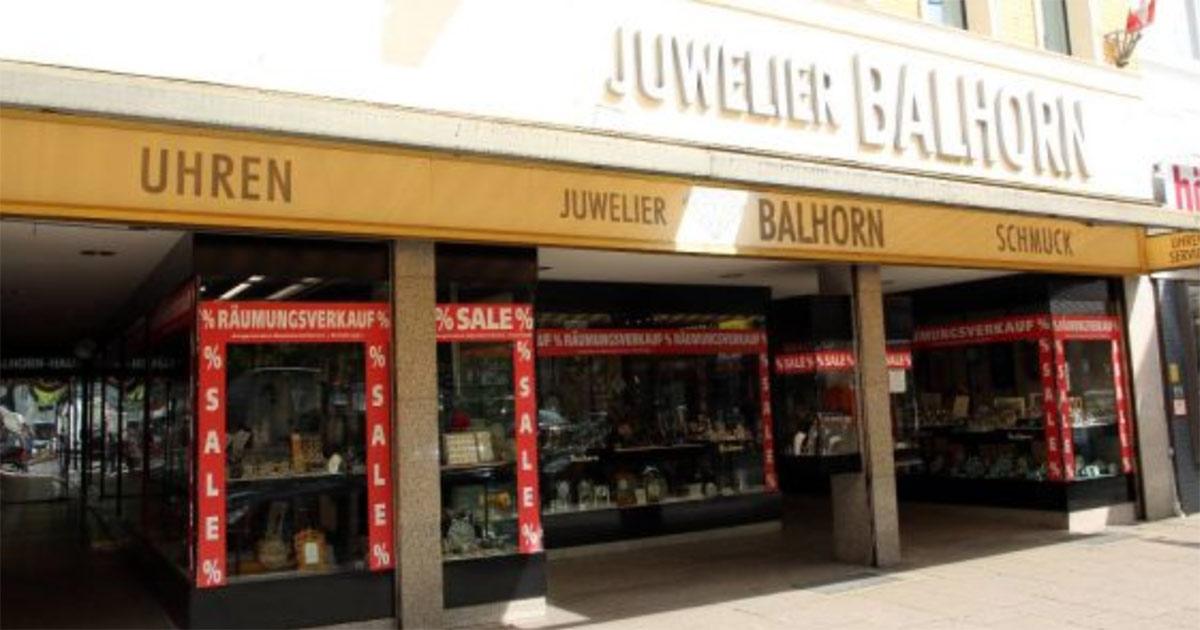 Juwelier Balhorn in Harburg macht noch in diesem Jahr dicht.