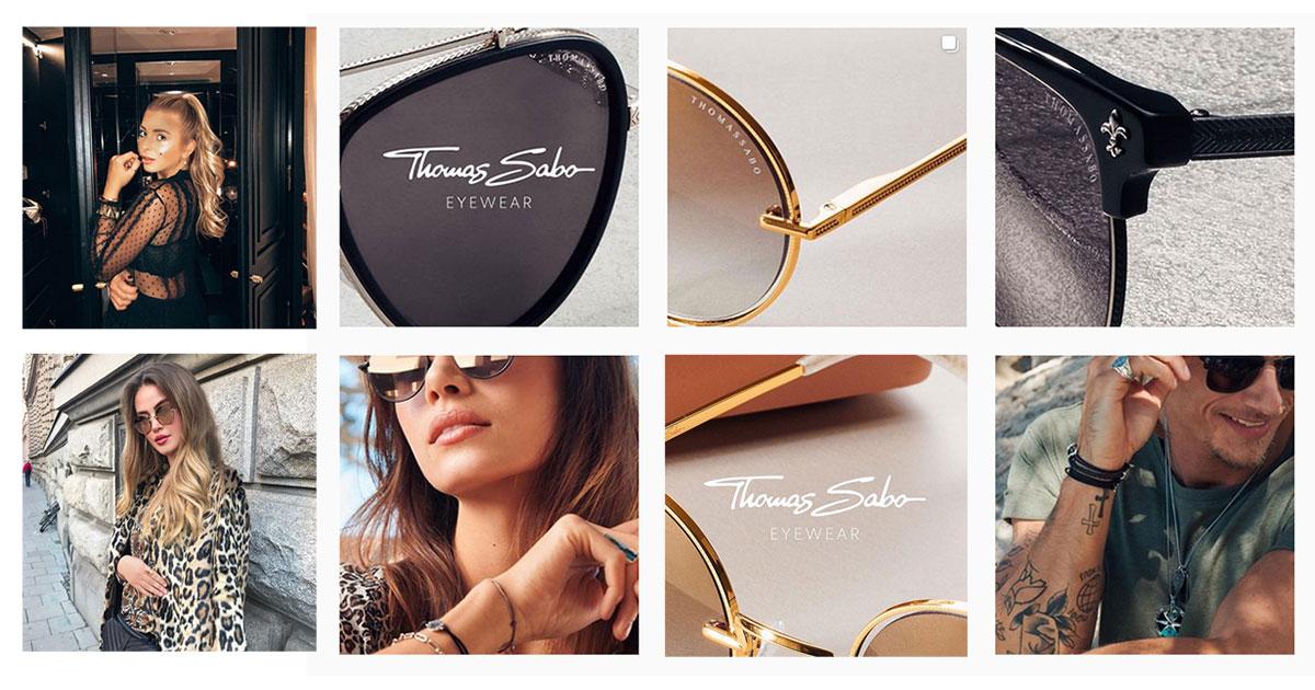 Eyewear by TS – jetzt macht Thomas Sabo auch in Brillen ... Bilder: Instagram #eyewearbyts