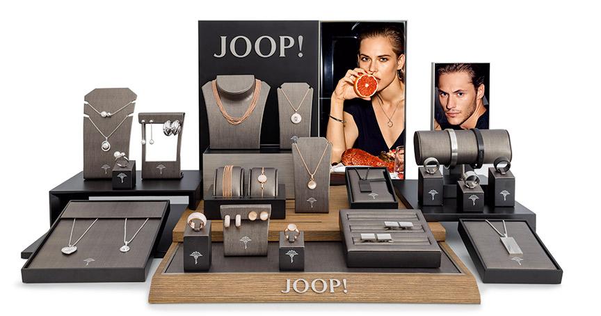 Das neue Joop! unter der Amor-Gruppe kommt bei Juwelier Dotter gut an. Eine Vorlaufzeit hätte die Marke nicht gebraucht, die Verkäufe hätten sofort begonnen.