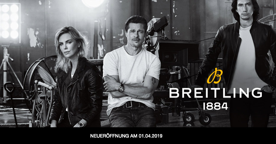 Im April startet Breitling in der Outletcity Metzingen.
