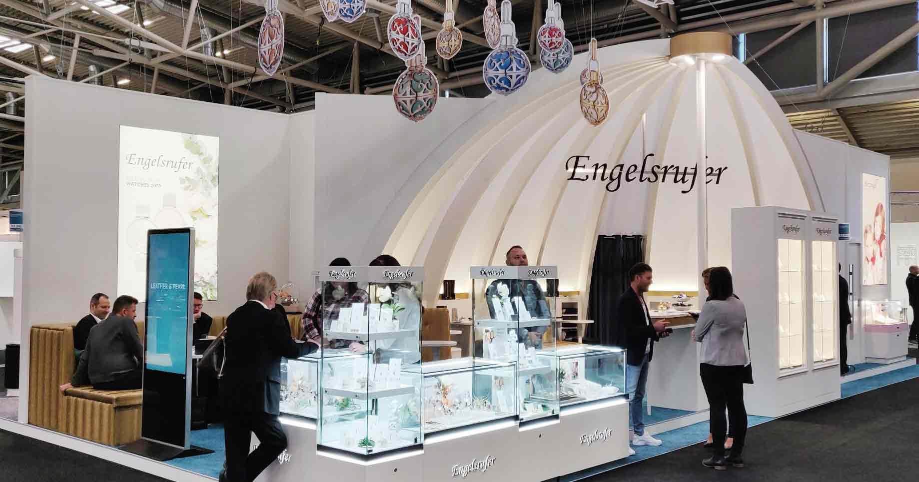 Zufrieden mit der Inhorgenta: Engelsrufer launchte in München die neue Uhrenkollektion.