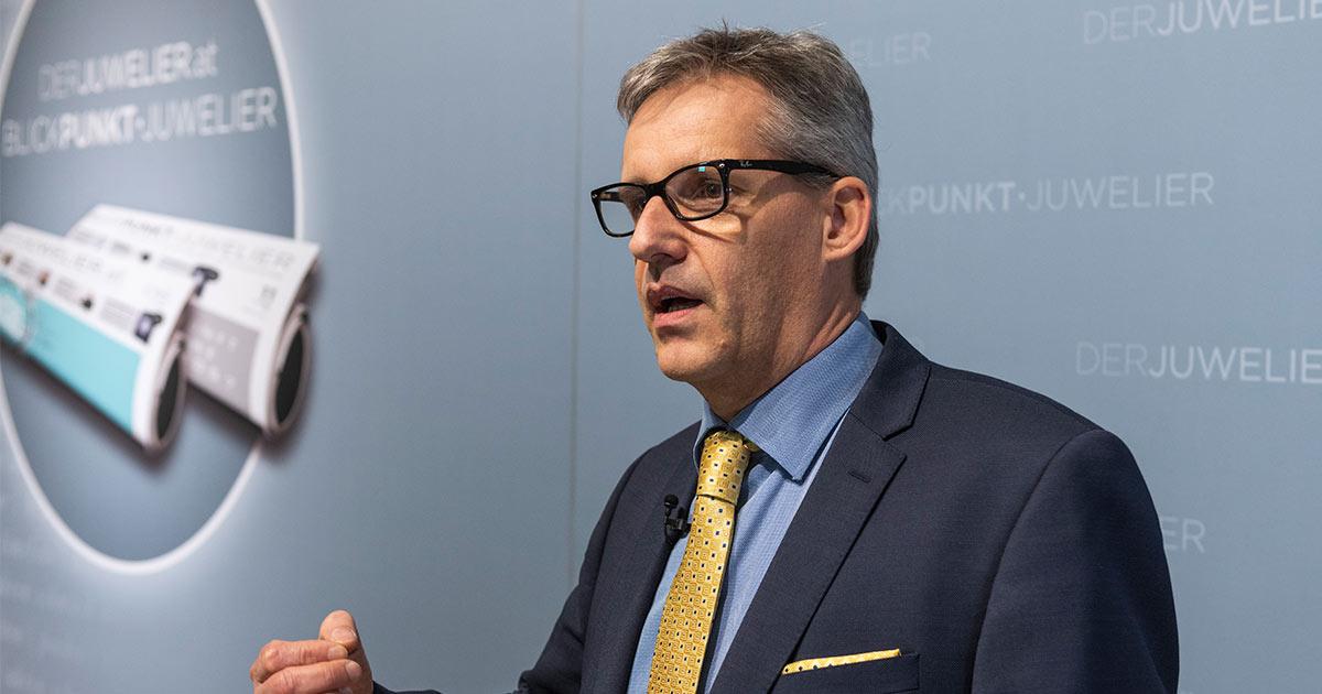 Sieht Chancen in der Altschmuck-Annahme des Juweliers: Bedra-Chef Volker Grobholz.