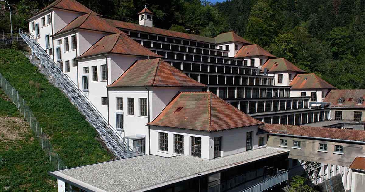 Ausgezeichnet: Der Terrassenbau von Junghans in Schramberg.