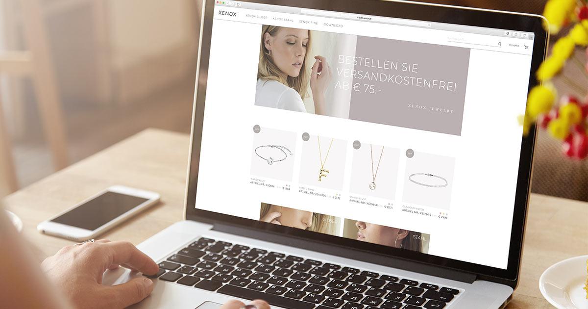 Keine Mindestbestellmengen, ab 75 Euro EK versandkostenfrei: Xenox hat einen neuen B2B-Webshop für Juweliere installiert.