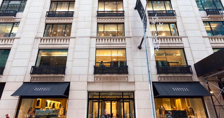 Der Luxustempel Barneys in New York ist insolvent.