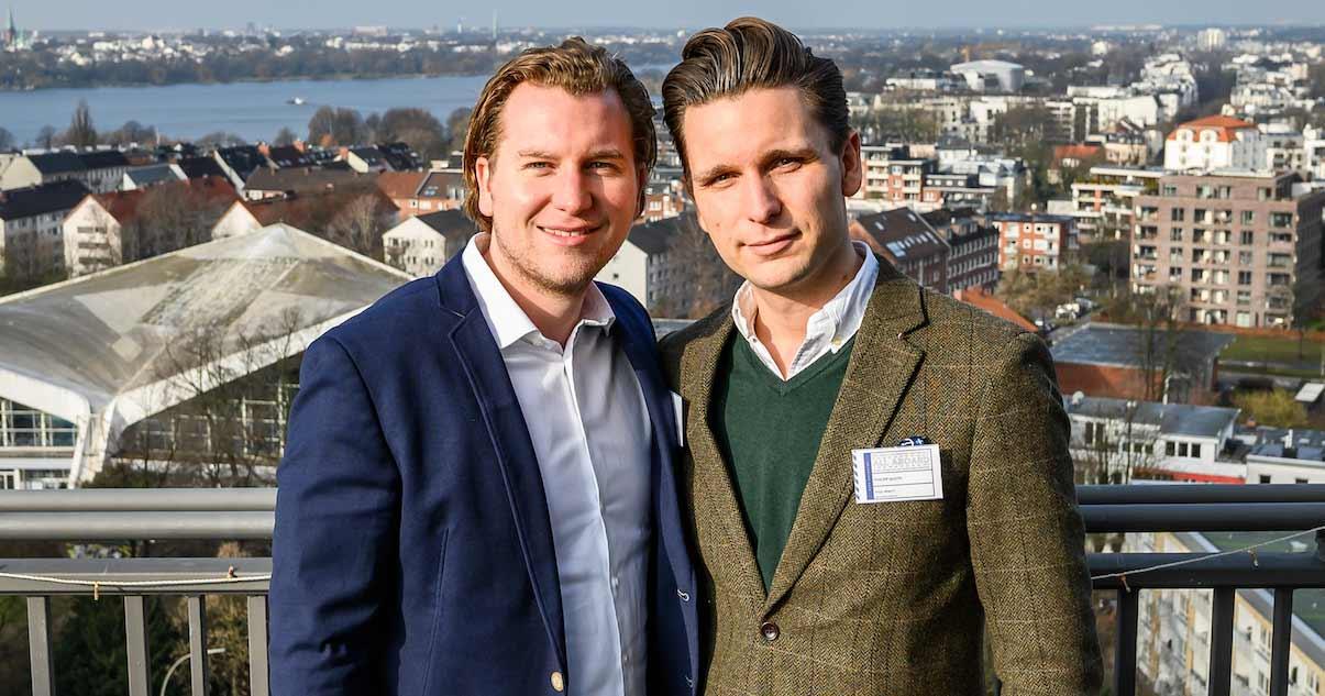 Während des Studiums gründeten Philipp und Frederic Gloth die Marke PAUL HEWITT.