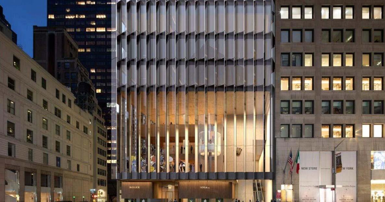 So soll die neue Dependance von Rolex in Manhattan aussehen.