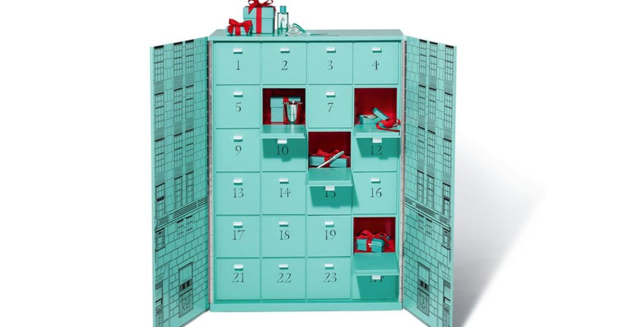 24 Türchen, 24 edle Schmuckstücke – der exklusive Adventskalender von Tiffany.