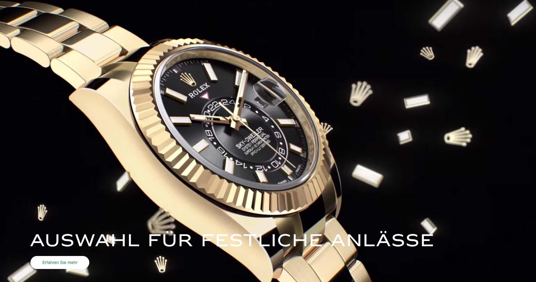 Rolex ist weiterhin der Wachstumstreiber im Luxusuhrengeschäft.