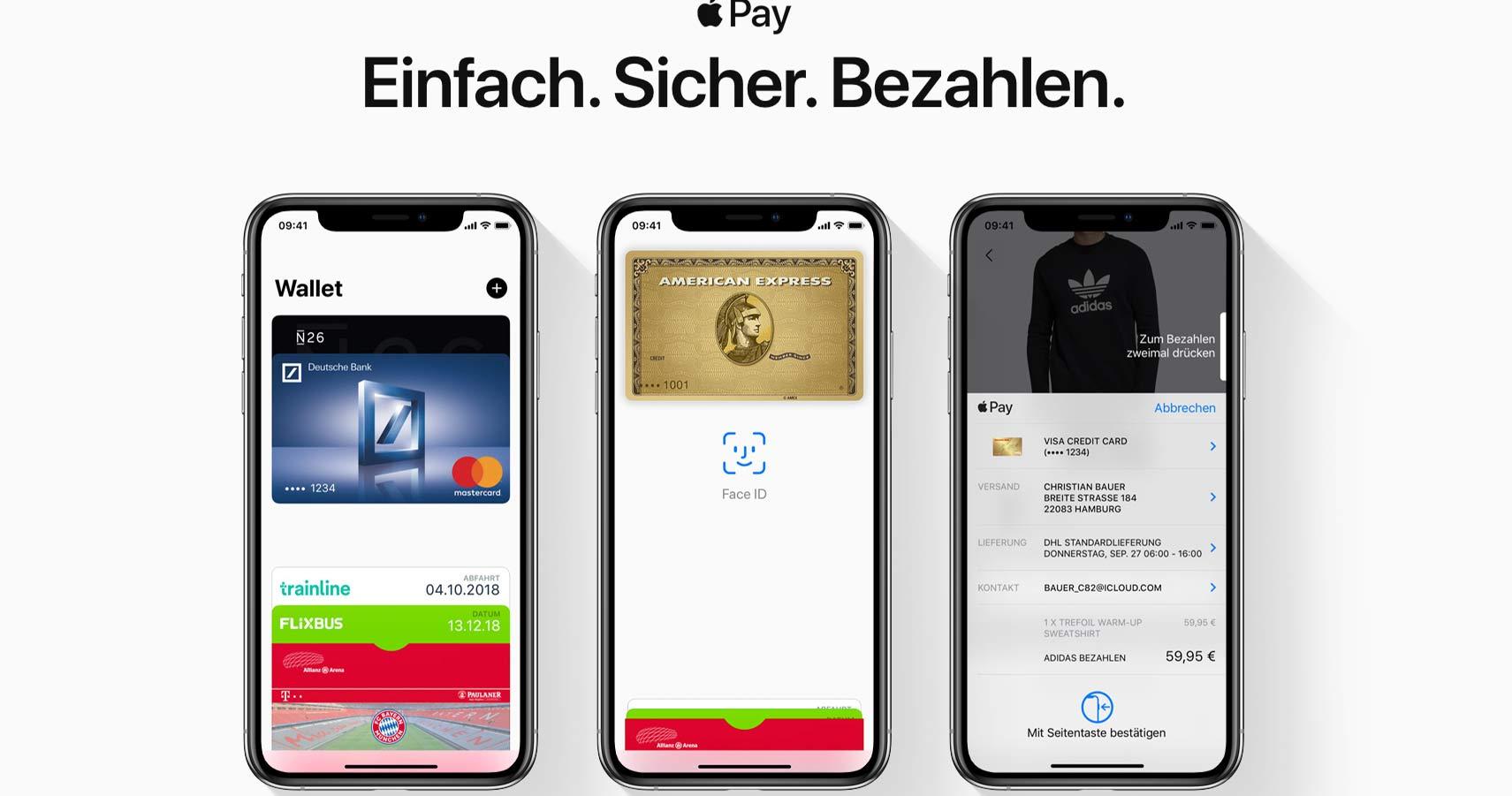 Sparkassen starten mit Apple Pay.