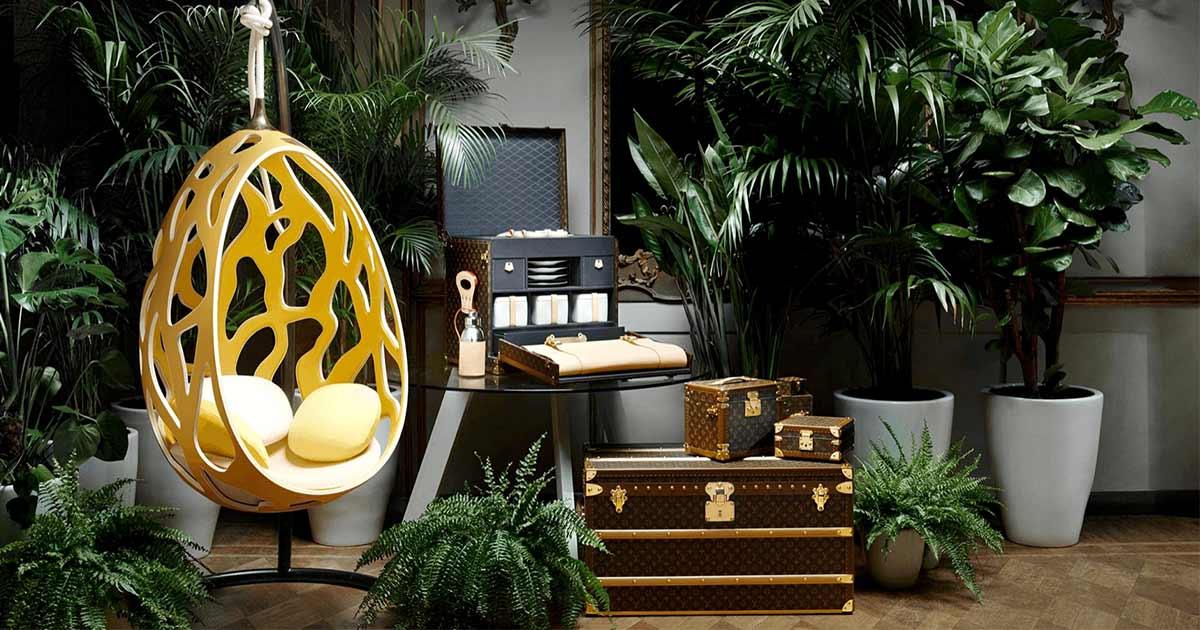 Louis Vuitton ist mehr als ein Reisegepäckhersteller. Nun wird ein Restaurant in Japan eröffnet.
