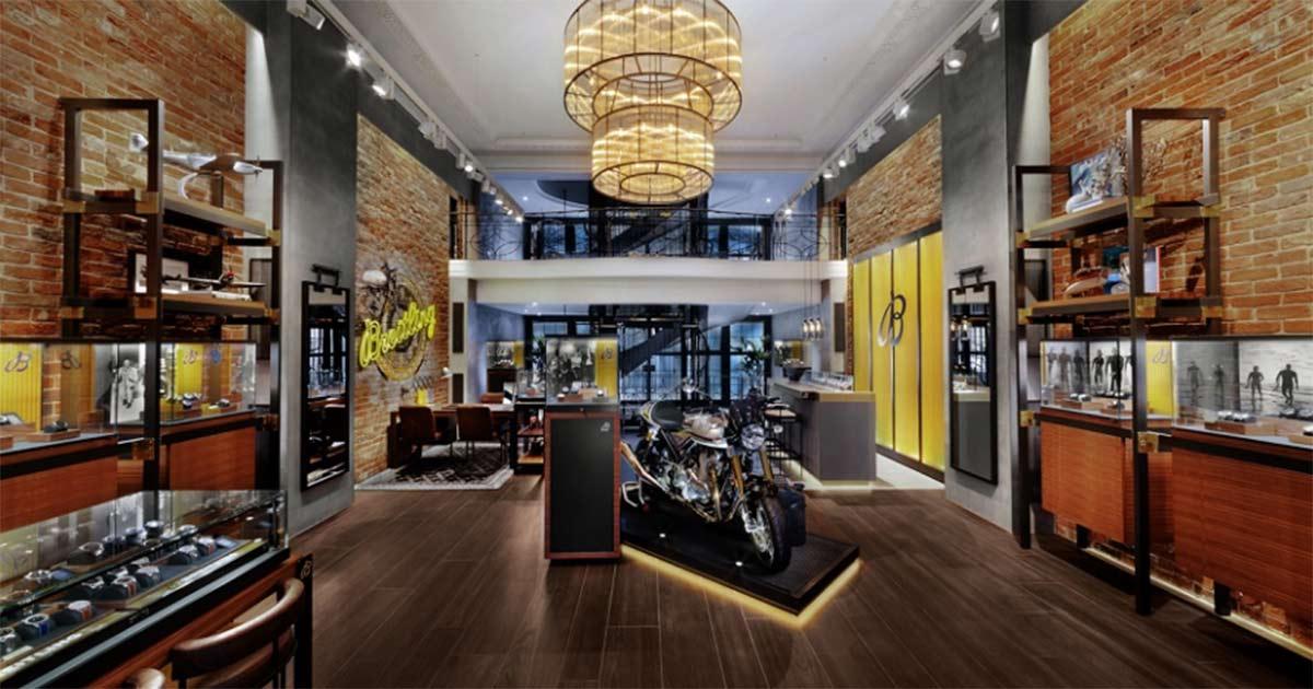 Die neue Monobrand-Boutique von Breitling.