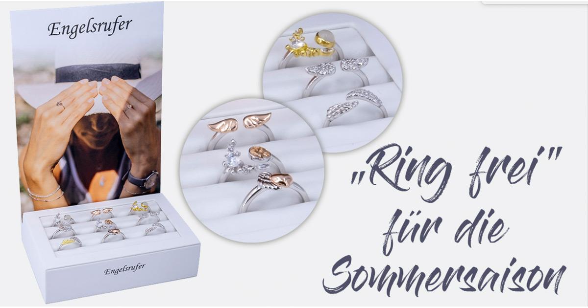 Dieses limitierte Ring-Display läutet bei Engelsrufer den Sommer ein.