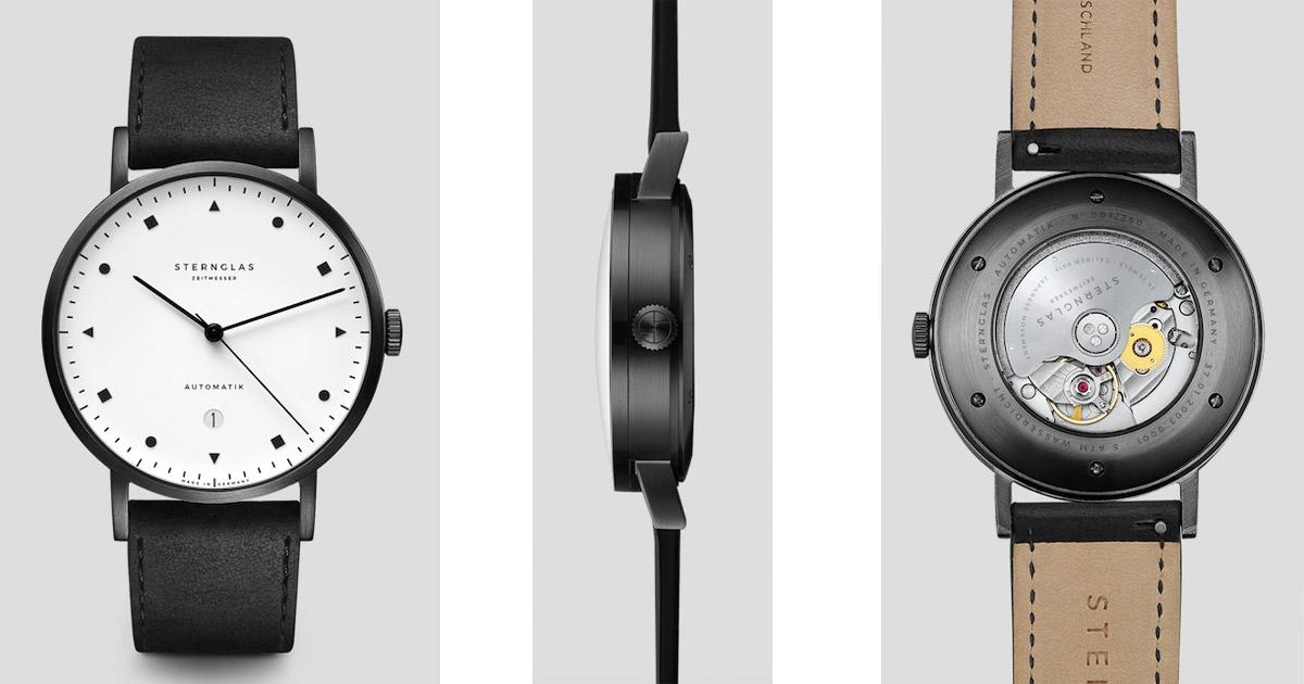 So sieht der Kundenwunsch aus: Die neue Sternglas-Uhr Zirkel.