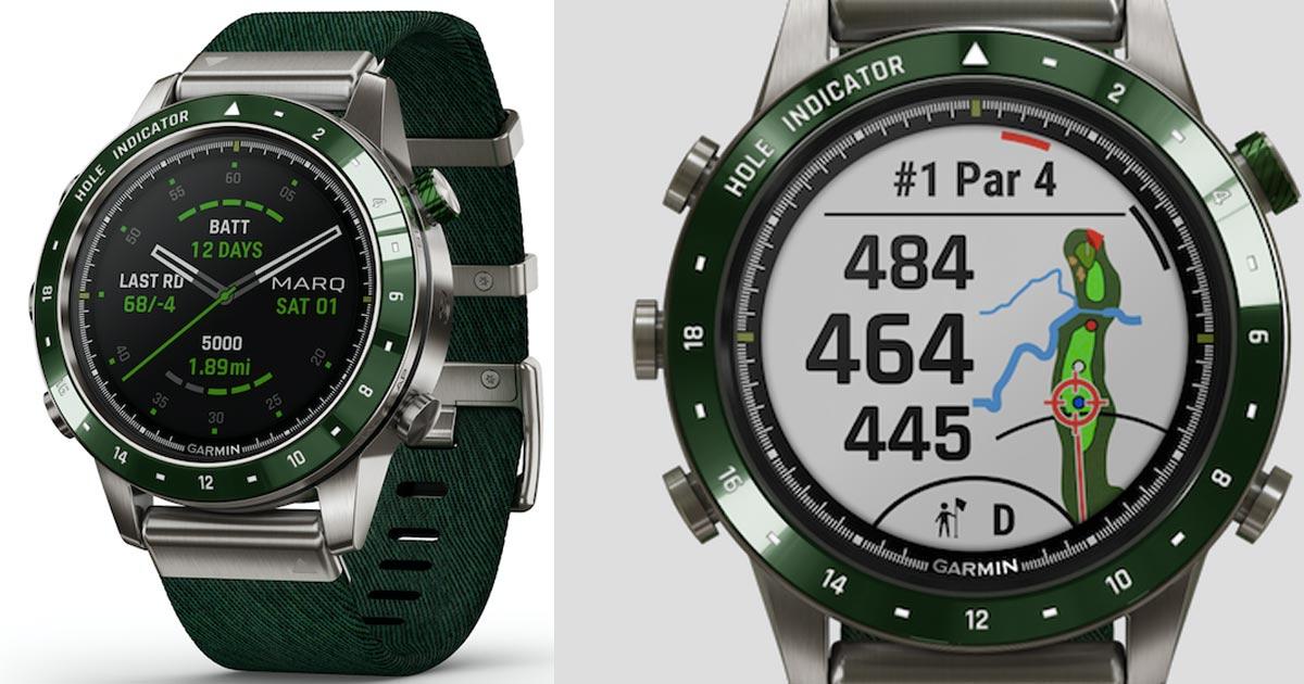Grün fürs Grün: Die neueste Garmin-Exklusivuhr in Grün richtet sich an Golfer.