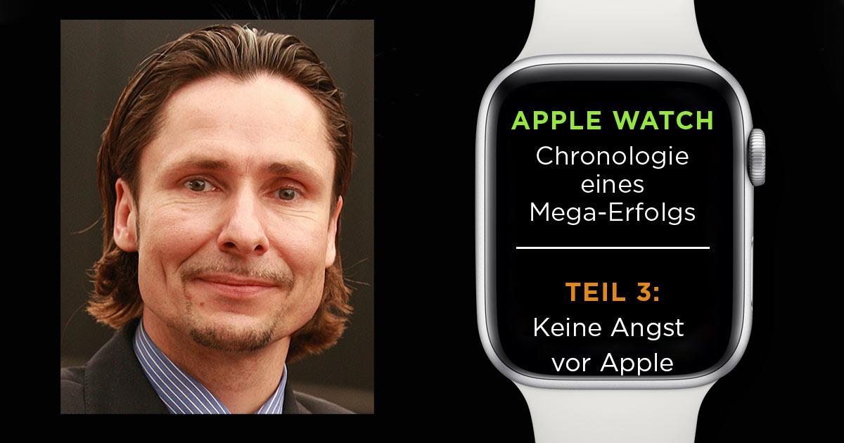 Casio zählt zu den Vorreitern smarter Uhren und verkauft sie seit 2014. Was sich durch die Apple Watch verändern wird, fragten wir im Mai 2015 Marc Czemper von Casio.