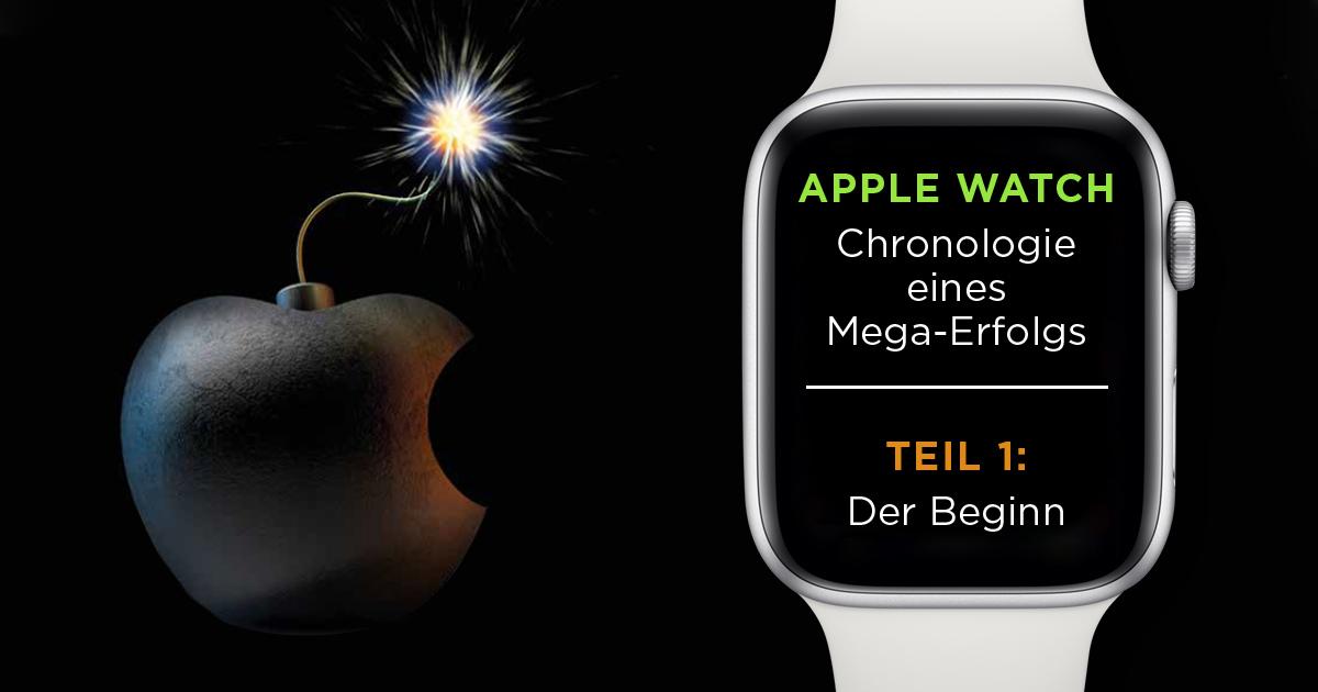 Im Herbst 2014 zündet Apple die Bombe und stellt die erste Apple Watch vor. Die Schweiz spottet, doch die Smartwatch wirbelt den Uhrenmarkt durcheinander.