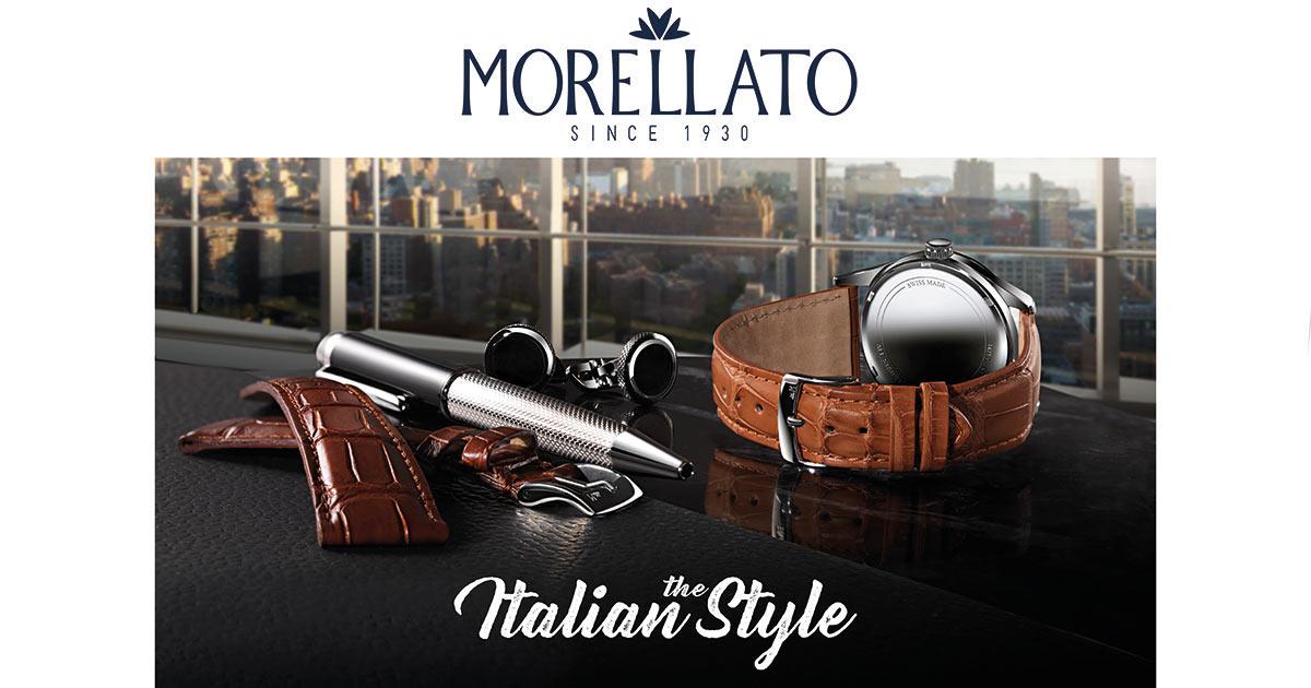 Seit einem Jahrhundert wählt MORELLATO die besten Leder aus, um luxuriöse, hochwertige Uhrenarmbänder herzustellen.