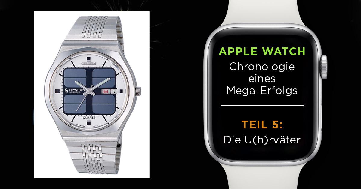 Ohne Errungenschaften wie Solar- oder Funktechnik würde es keine Smartwatches geben.