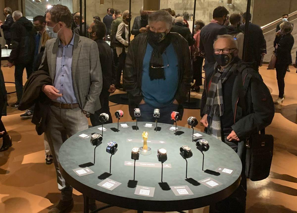 Alle die 84 Uhren, die sich um den Grand Prix d'Horlogerie de Genève (GPHG) bewerben, sind derzeit in La Chaux-de-Fonds zu sehen. Es folgen Zürich, Bern und Genf.
