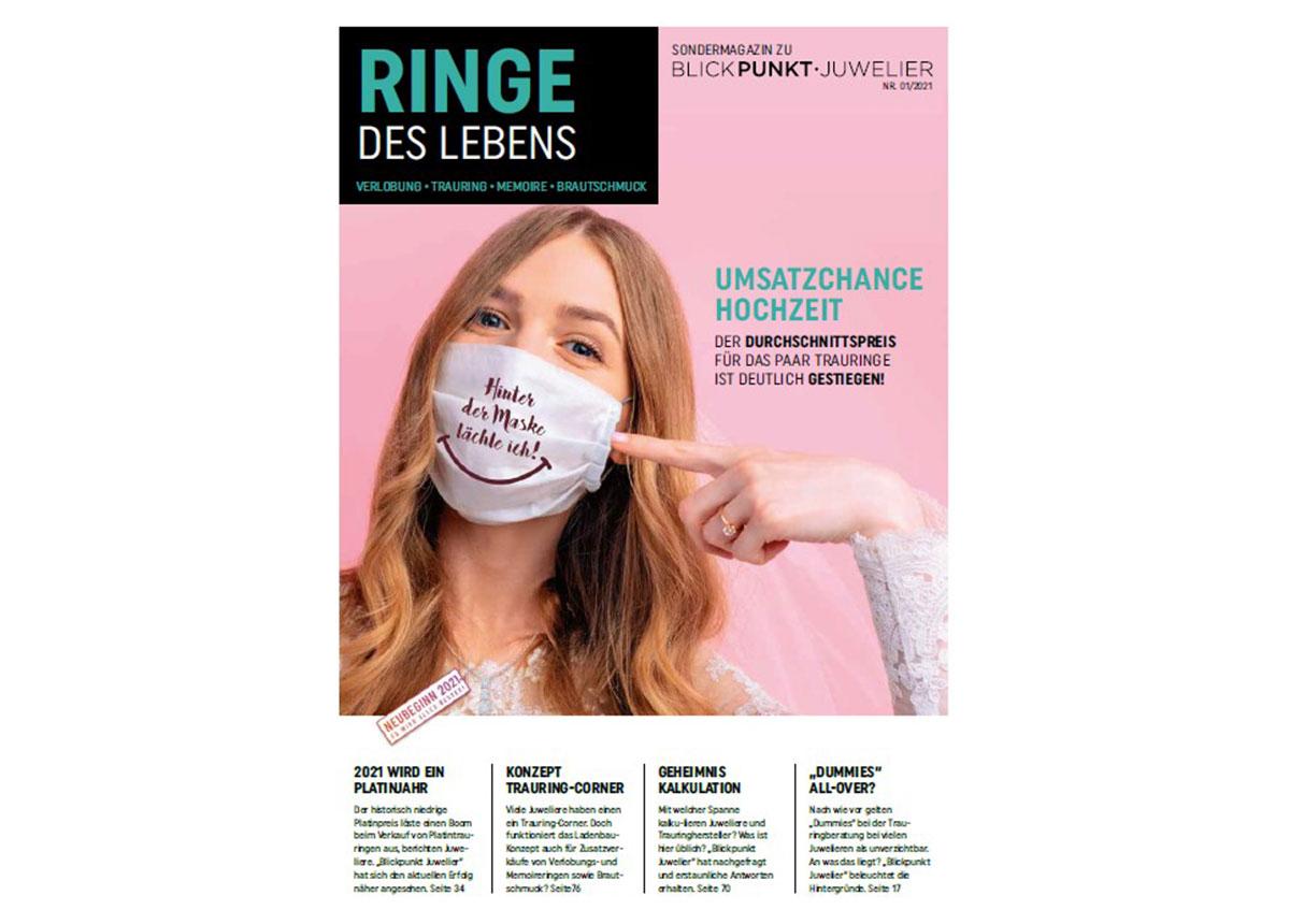 "Das Sondermagazin ""Ringe des Lebens"" erscheint Anfang Januar 2021"