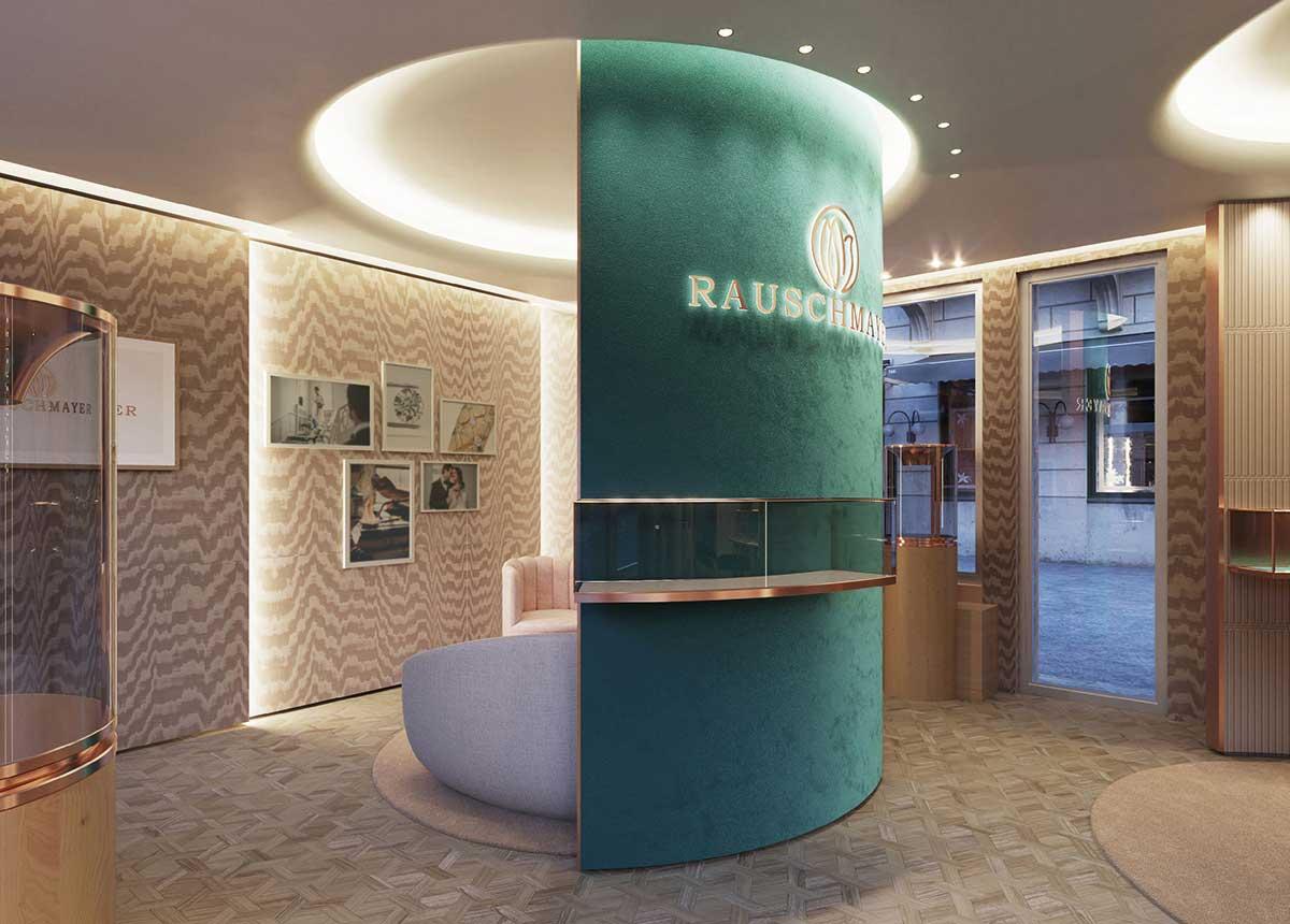 Die neue Rauschmayer-Boutique in Baden-Baden stahlt Harmonie und Eleganz aus.