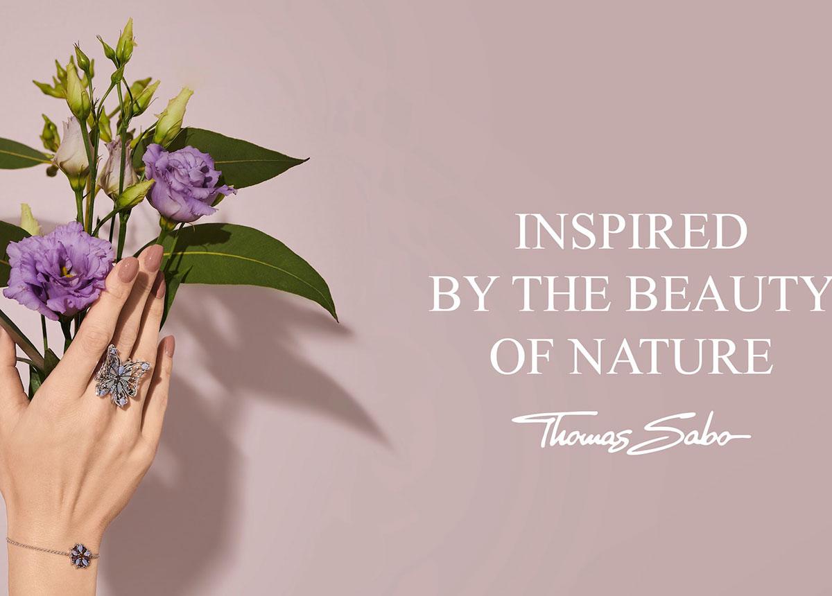 Zauberhafte Motive aus der Natur von THOMAS SABO erobern die Frühling/Sommer Kollektion 2021.