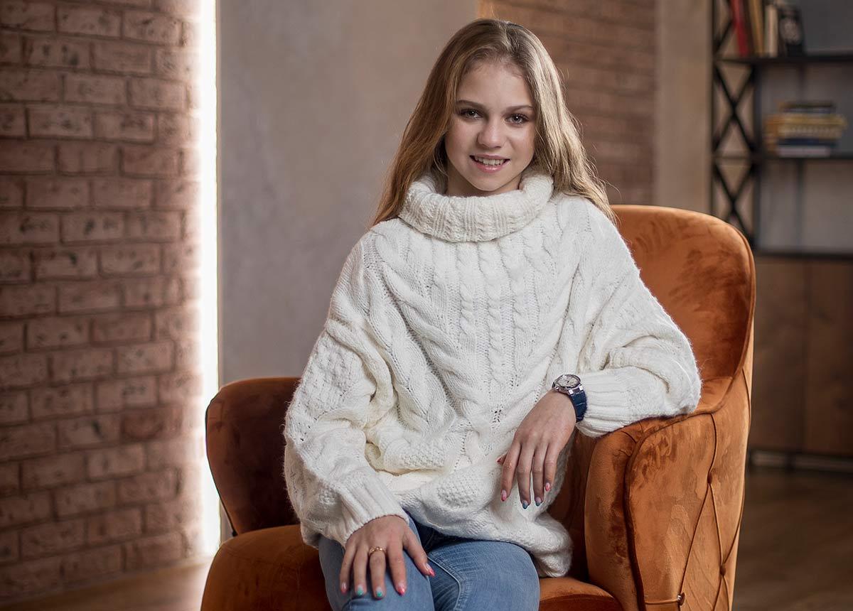 Maurice Lacroix-Werbebotschafterin Alexandra Trusova.