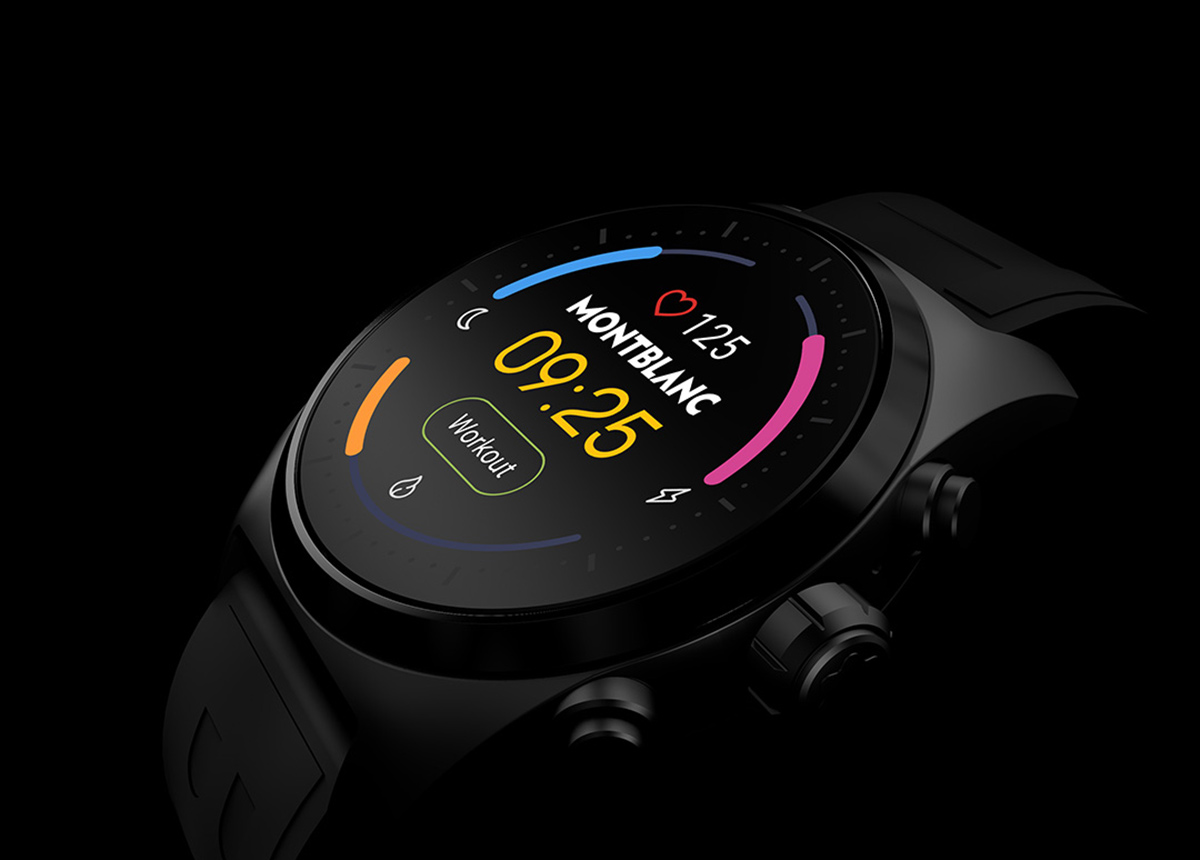 Die Montblanc Summit Lite Smartwatch ist ab sofort für 790 Euro VK erhältlich.
