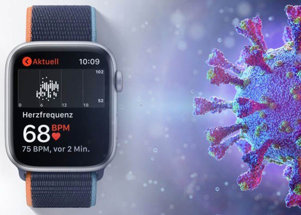 Die Apple Watch kann angeblich COVID-19 Infektionen erkennen. (Credit: © Apple / Shutterstock/Corona Borealis Studio)