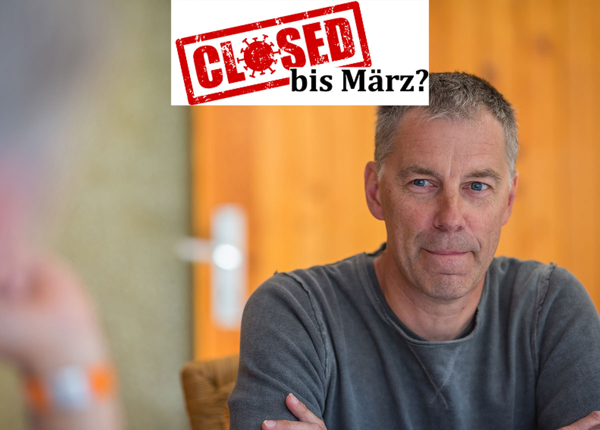 Juwelier Jürgen Grün stellt sich erneut quer und sucht in Sachen Lockdown den Weg über die Gerichte.