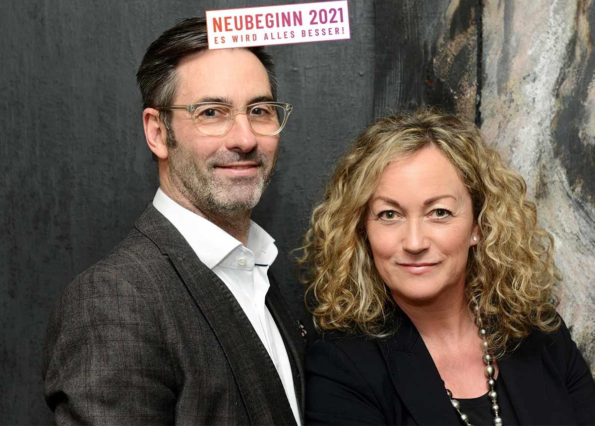Klare Ansage: Ohne den Weg nach oben, wären wir heute nicht mehr am Markt, sagen Diana und Philippe Marie von Juwelier Haarhaus.