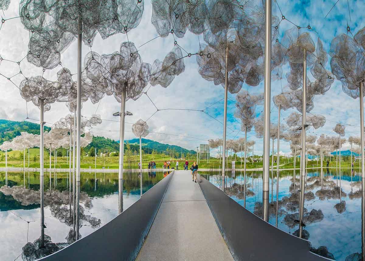 Gernot Langes-Swarovski (†) war der Schöpfer der Kristallwelten in Wattens. (Credit: Anibal trejo / Shutterstock.com)