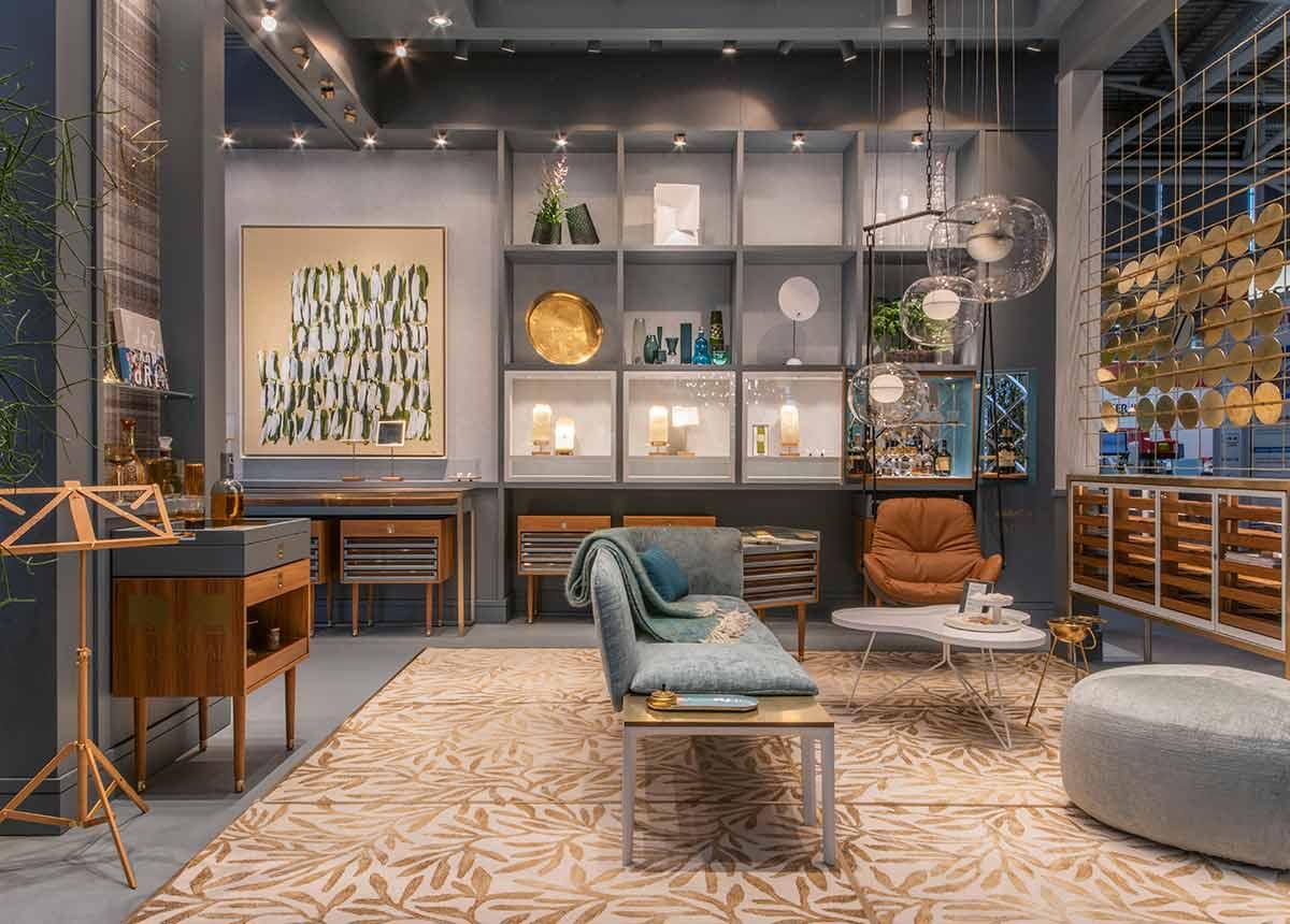 Ladenbauer Möbel & Raum schafft Wohnzimmeratmosphäre beim Juwelier.
