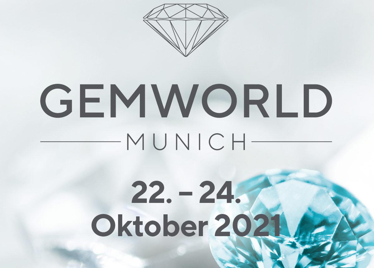 Die GEMWORLD MUNICH wird mit ihrem breit gefächerten Angebot an Schmuck und Edelsteinen eine wichtige Order- und Kommunikationsplattform im Herbst.