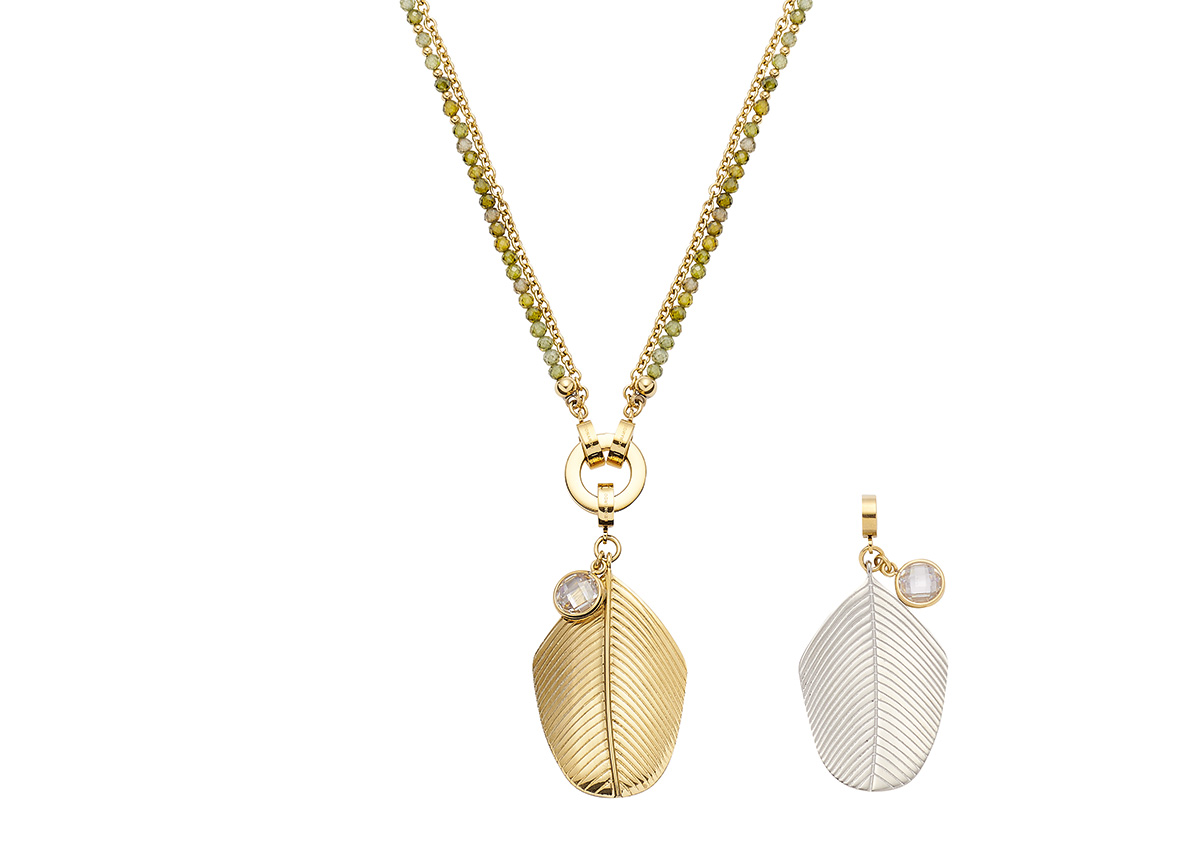 Halskette Maila (70 cm) mit dem Armband verlängerbar für 129 Euro VK.