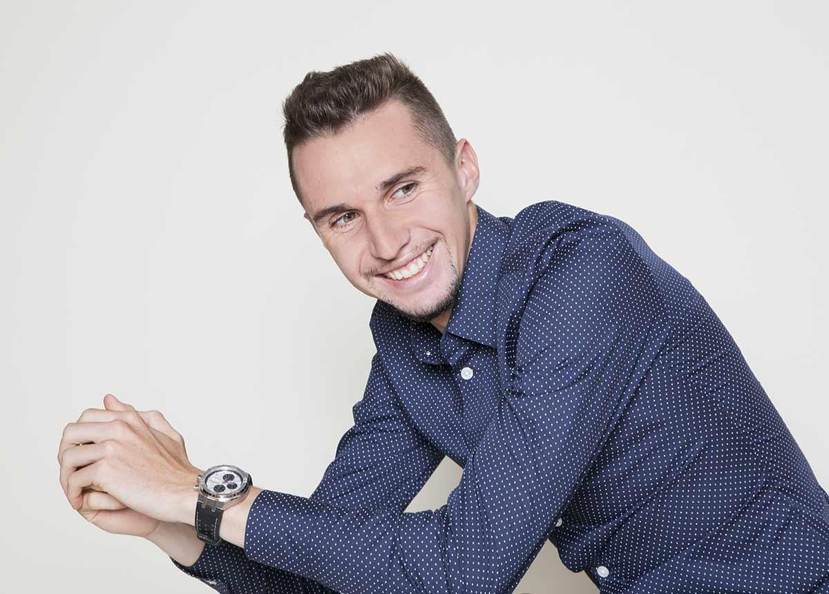 Der Schweizer Langstreckenläufer Julien Wanders.