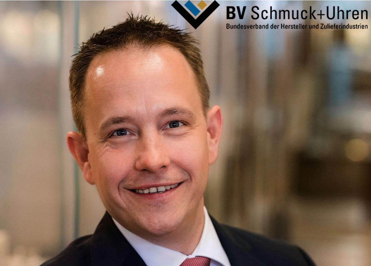 Dr. Guido Grohmann, Hauptgeschäftsführer des Bundesverbandes Schmuck+Uhren.