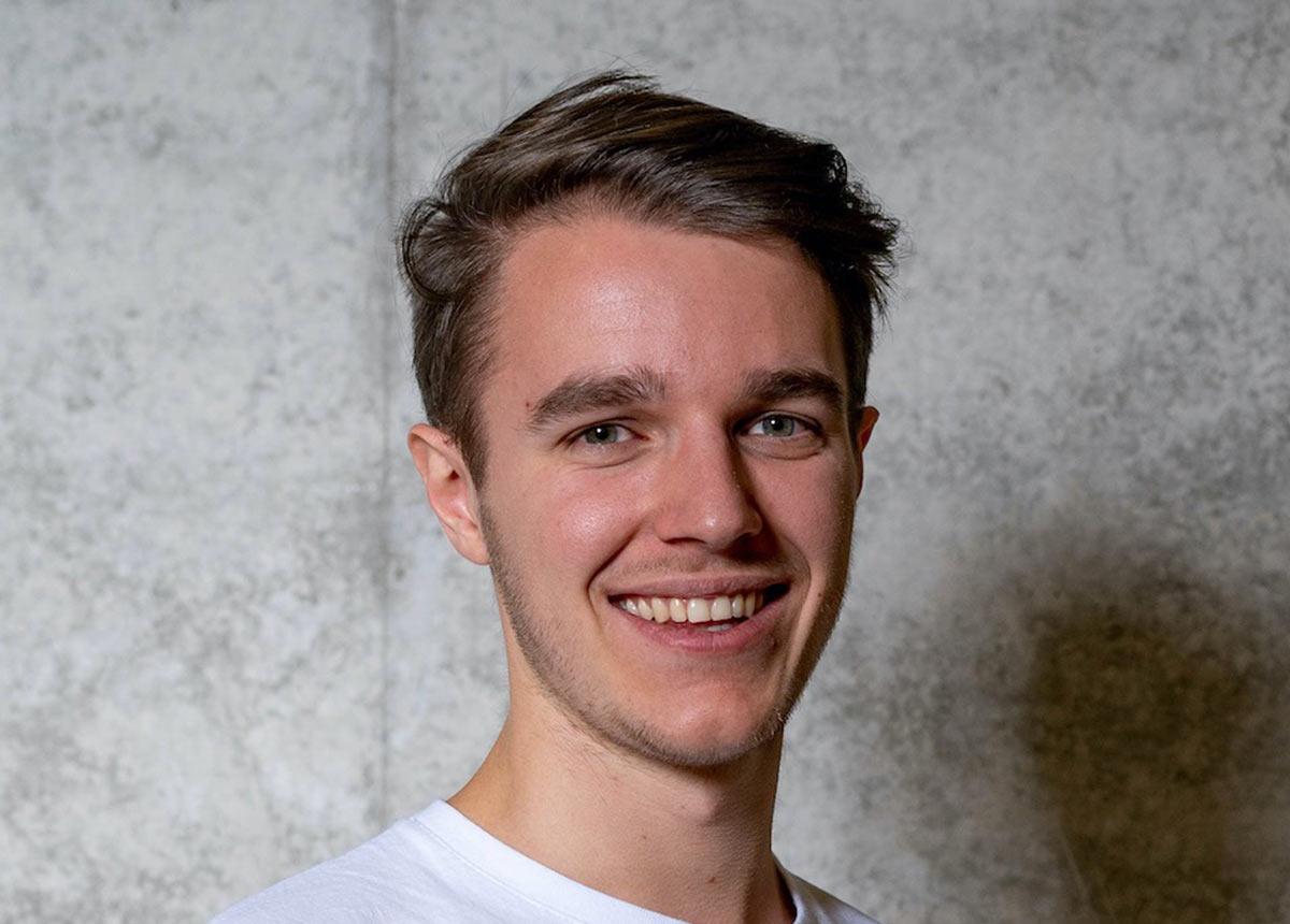 """Julian Rabe, Gründer von """"onemate"""" in Pforzheim. ©Julian Rabe"""
