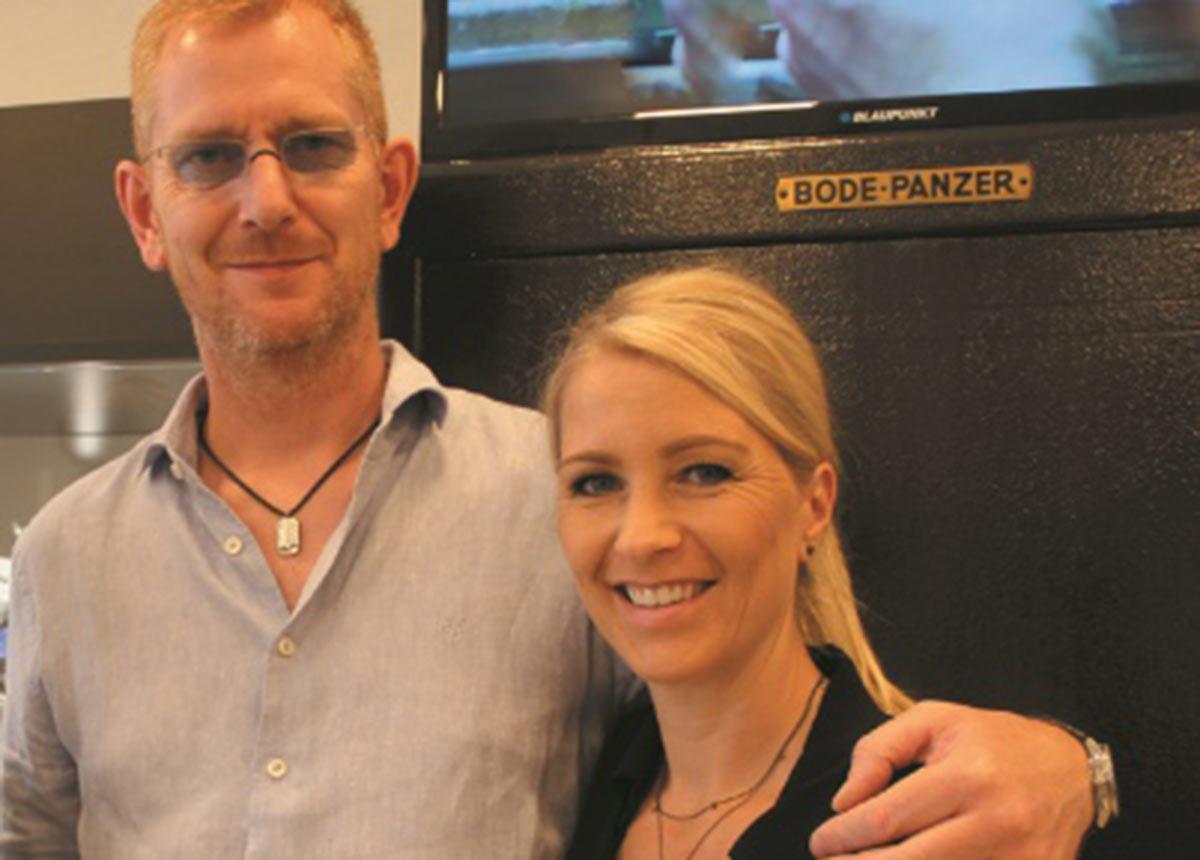 Olaf Bormann und Katja Speckmann vom Watchtower.
