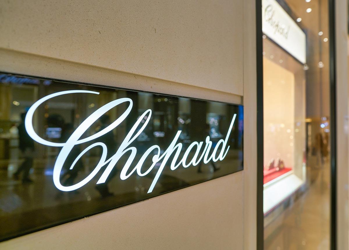 Chopard eröffnete in Saudi Arabien ein neues Geschäft. (Credit: Sorbis / Shutterstock.com)
