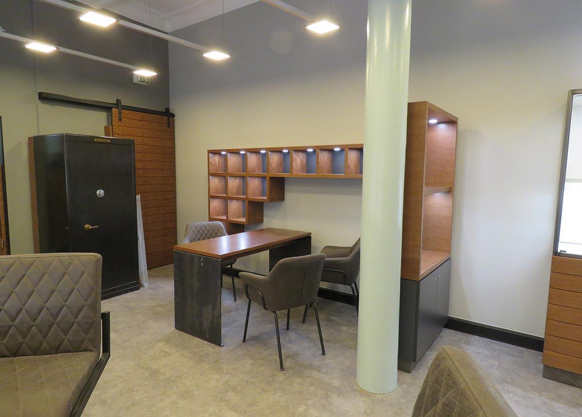 Hier entstand die neue Trauring-Lounge.