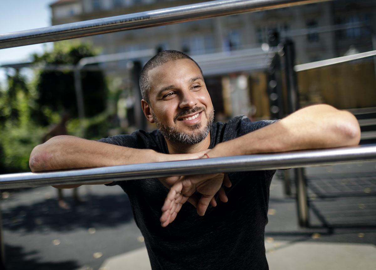 Ben Salomo war in der Berliner Hip-Hop-Szene eine feste Größe. Vor zwei Jahren kehrte er ihr wegen antisemitischer Äußerungen den Rücken.