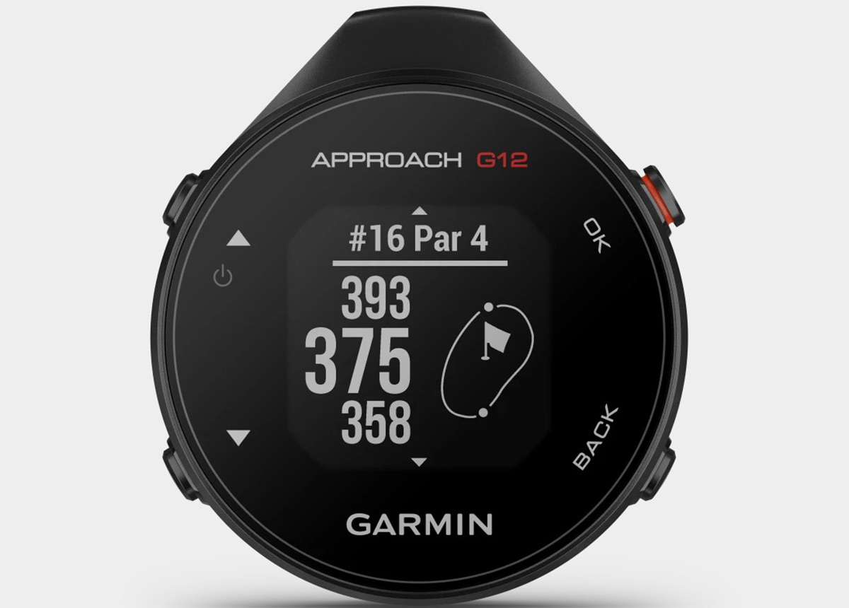 Der Approach G12 von Garmin. (UVP: 149,99 €; Verfügbarkeit: ab April)