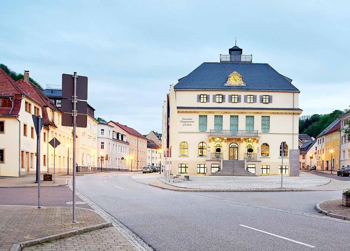 Wieder offen: Das Uhrenmuseum Glashütte.